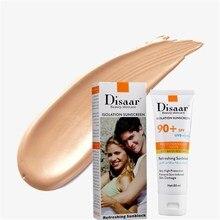 DISAAR УФ-защита увлажняющий крем солнцезащитный 80 г сверхъестественный макияж увлажняющий, питательный отбеливающий солнцезащитный крем BBS-03