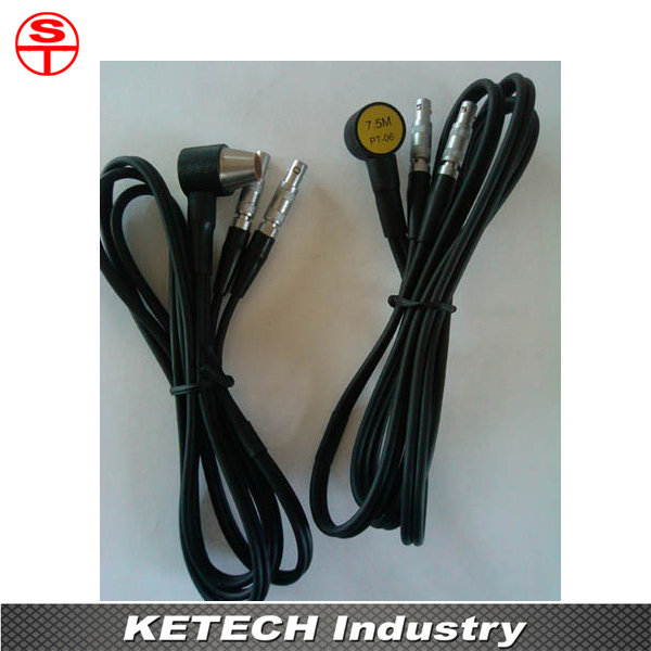 PT-06 Probe For Ultrasonic Thickness Gauge 5mhz 10mm probe transducer for ultrasonic thickness gauge