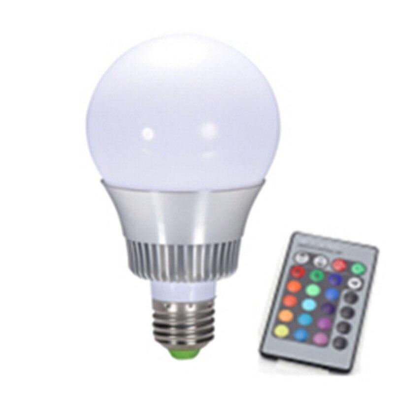 5w magic light multi color lamp 110v led licht rgb bulb 220v color changing rgb lamp bright. Black Bedroom Furniture Sets. Home Design Ideas