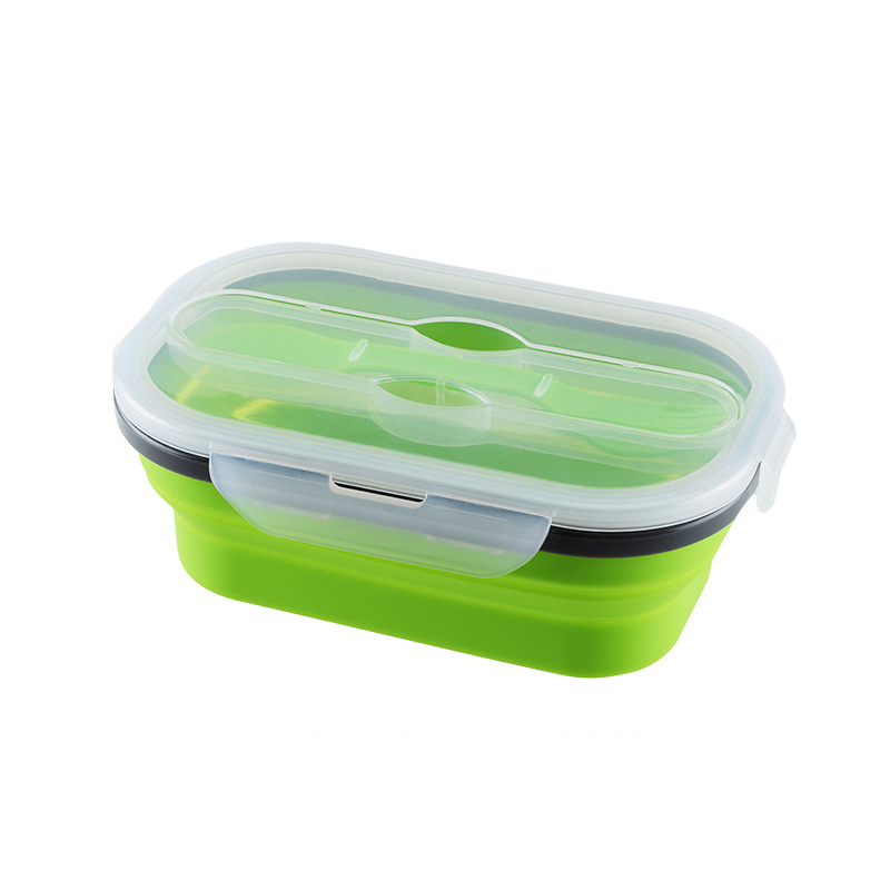 Superieur Folding Silicone Lunch Box Food Storage Container Kitchen Microwave  Tableware Portable Household Outdoor Food Box  In Lunch Boxes From Home U0026  Garden On ...