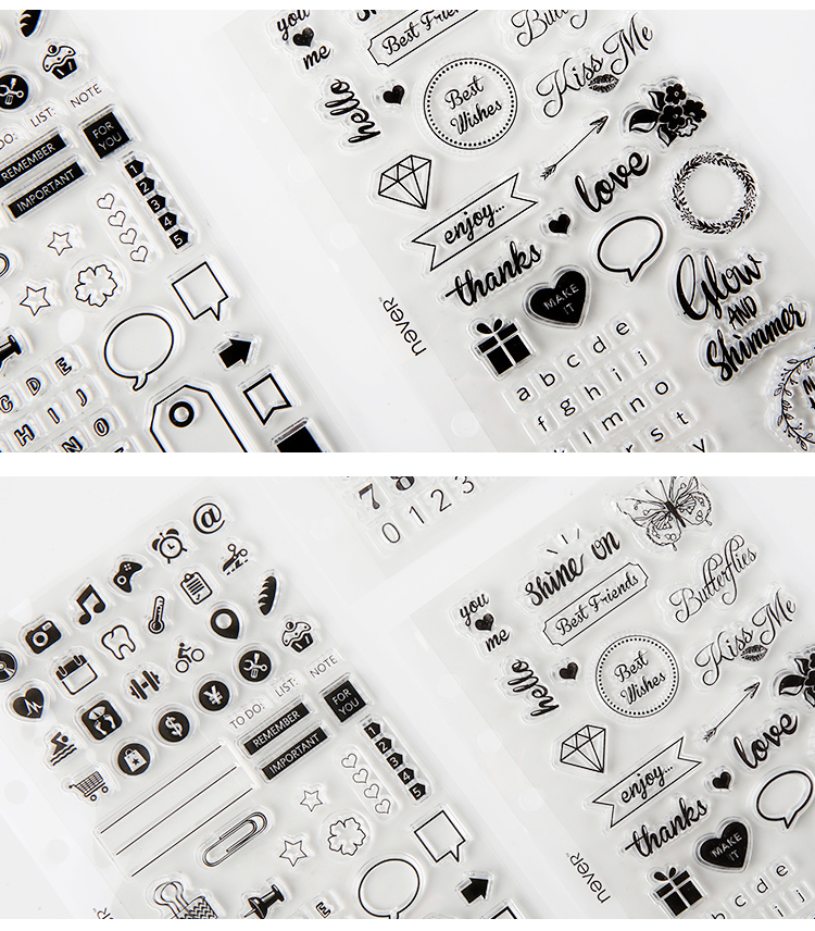 stamps for planner