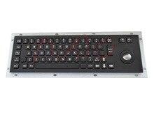 Kiosk Metal Keypad atm keyboard PC keyboards metal keyboard with Explosion-proof
