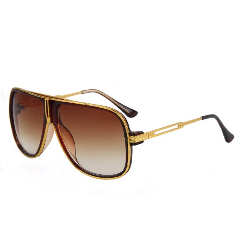 Mode zonnebril mannen vrouwen 2018 luxe merk designer zonnebril dames - Kledingaccessoires - Foto 2