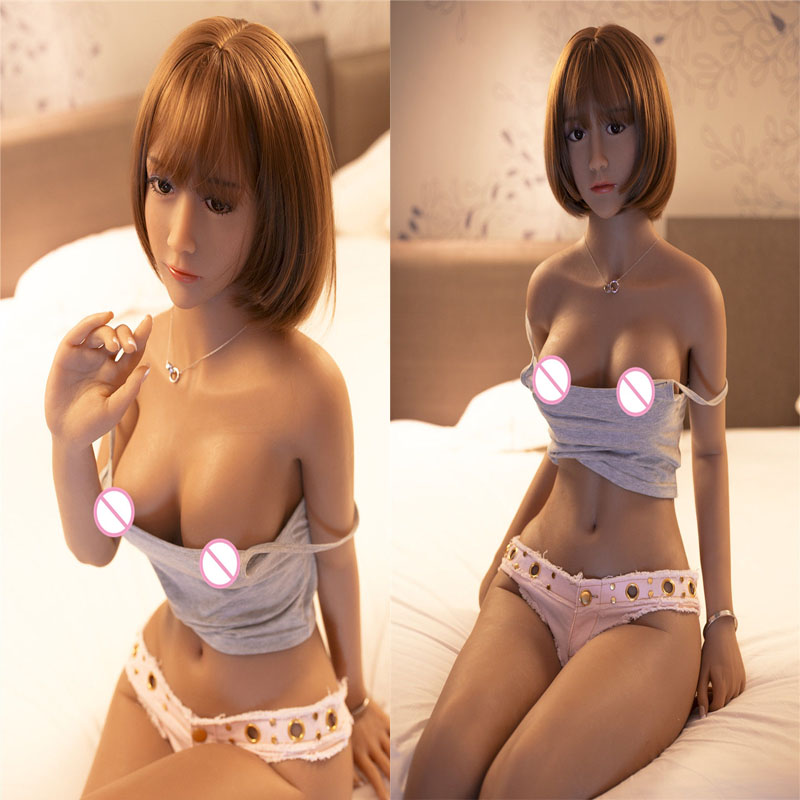 Buy 170cm Silicone Sex Dolls Male Tanned Skin TPE Sexual Real Dolls Realistic Vagina Small Breast Sex Love Doll Boneca Sexi