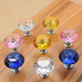 10 Pcs Cristal Diamante Forma Gabinete Knob Gaveta Pull Handle Kitchen