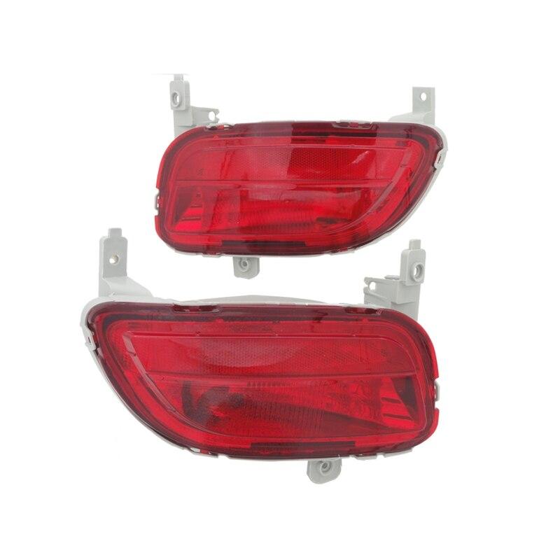 цены 1Pair LH+ RH Side Red Rear Bumper Fog Lamp Lights Reflector for Mazda 5 2008