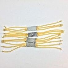 Elastica банджи катапульта slingshot резиновая упругой лента скорость охота шт. для