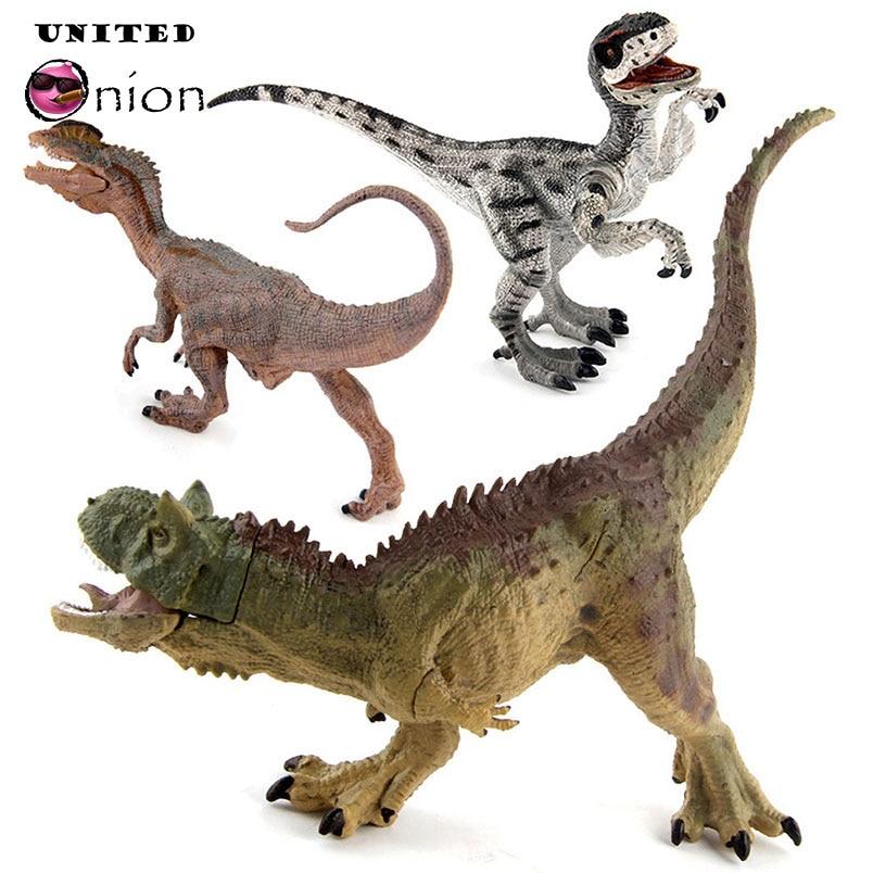 Exquisite Realistic Dinosaurs Figures Toys Jurassic Fallen World Kingdom Park 2 3 4 5 1 Jumbo Models Collection Kids Party Vinyl