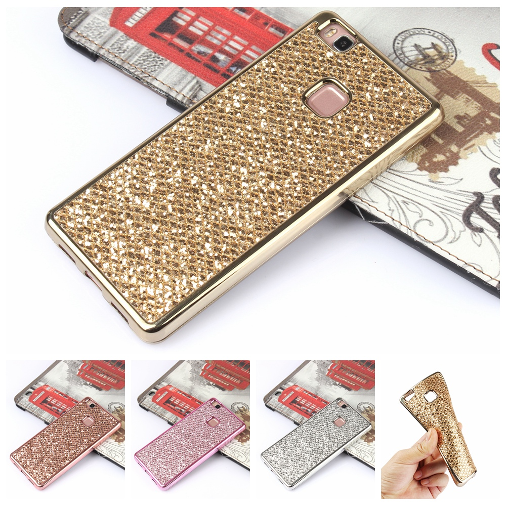 Luxury Glitter Bling Soft Silicone Case For Huawei P8 Lite P10 P9 Lite Y5 II 2 Compact Honor 8 Lite 5A LYO L21 Cover