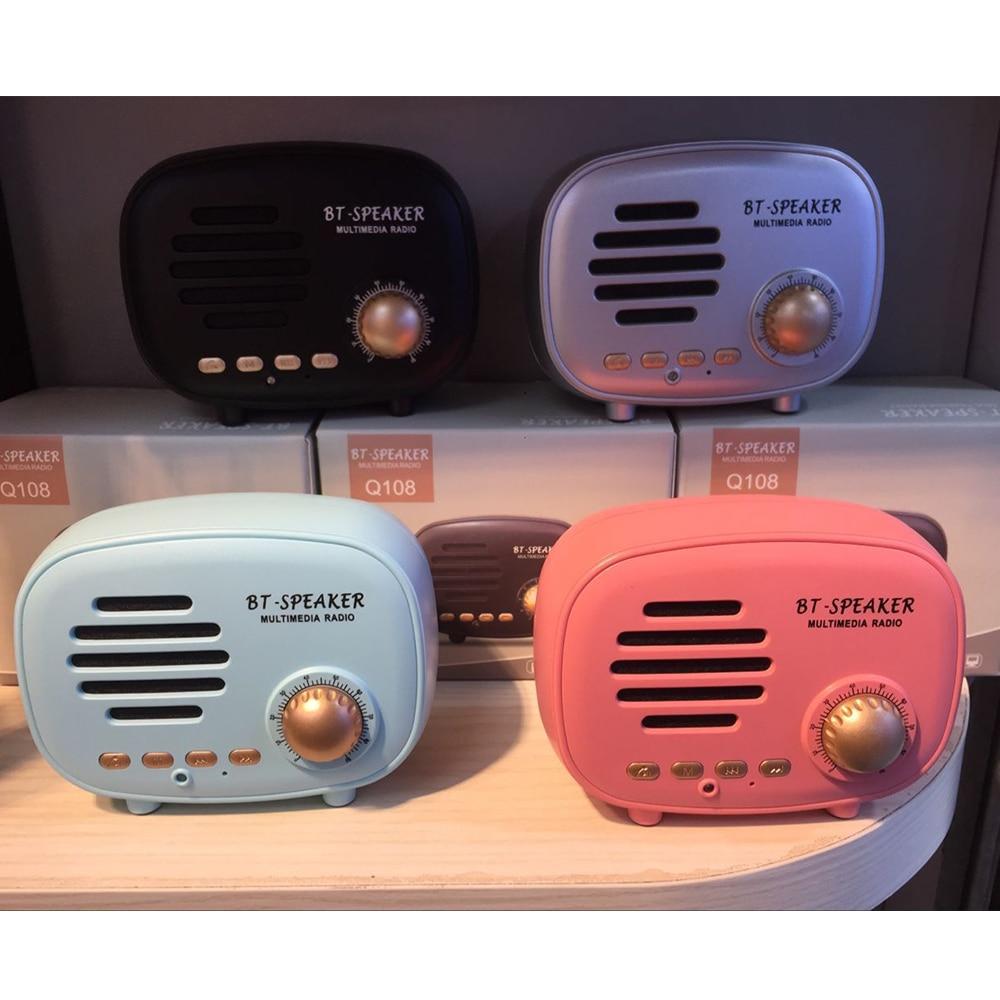 Classic radio Mini Portable Bluetooth Speaker (9)