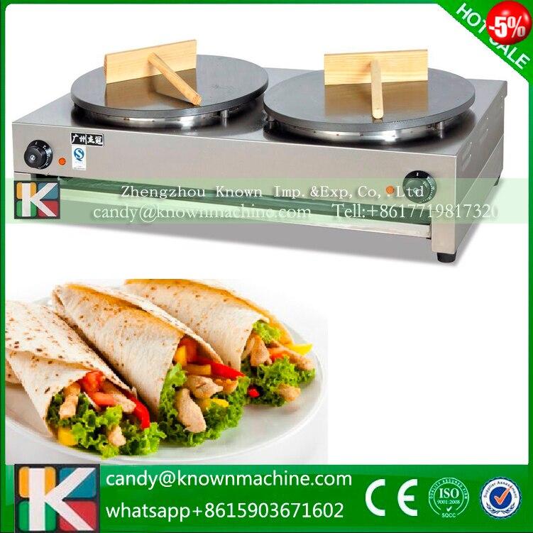 все цены на Commercial Crepe Machine Electric pancake machine 220v50Hz 110v 60 онлайн