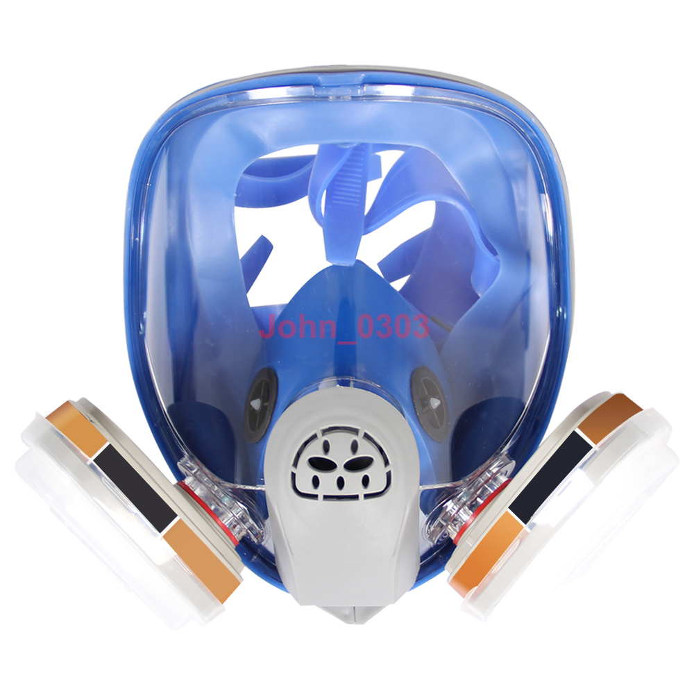 7 Pcs Suit For 3M 6800 Painting Spraying Full Face Respirator Gas Mask Breather new style sjl 6200 suit respirator painting spraying face gas mask with goggles paint glasses