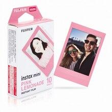 Bộ Máy Chụp Ảnh Lấy Ngay Fujifilm Instax Mini Hồng Nước Chanh Phim Giấy In Ảnh Cho Fuji Ngay Mini 9 8 70 8 Plus 70 Neo 90 25 Phim Chia Sẻ SP 1 SP 2