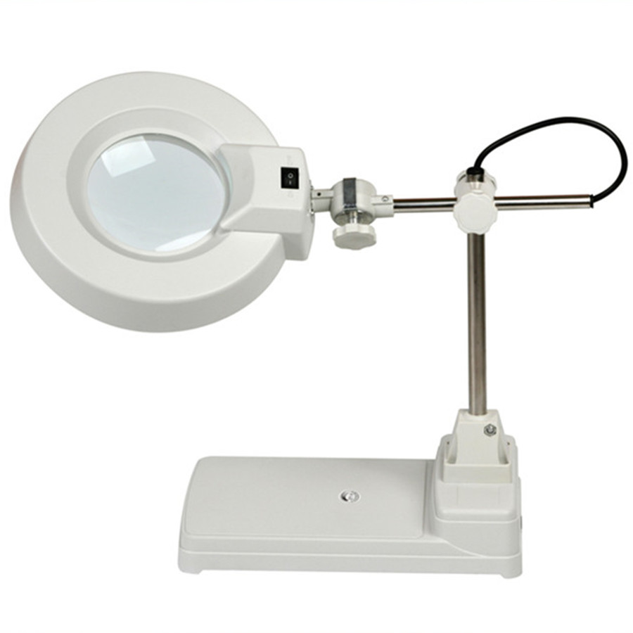 ФОТО Aliexpress whoelsale 10x FT-86B Table Type industrial Magnifying led type Lamp with Optical Magnifier Lamps
