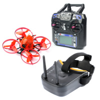 Snapper7 Brushless Micro 75mm 5.8G FPV Racer Drone 2.4G 6CH RC Helicopters RTF 700TVL Camera VTX & Double Antenna Mini Goggles