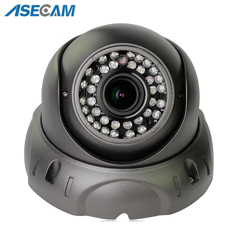 Zoom Varifocal 2 8 12mm Lens HD IP Camera 1080P H 265 POE Onvif p2p Indoor