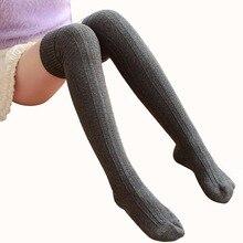 Осень Женщины Длинные Носки Женские чулки Бедро высоких Носки Для Женщин Зимнего Леди теплый колено Высокие носки calcetines medias альты
