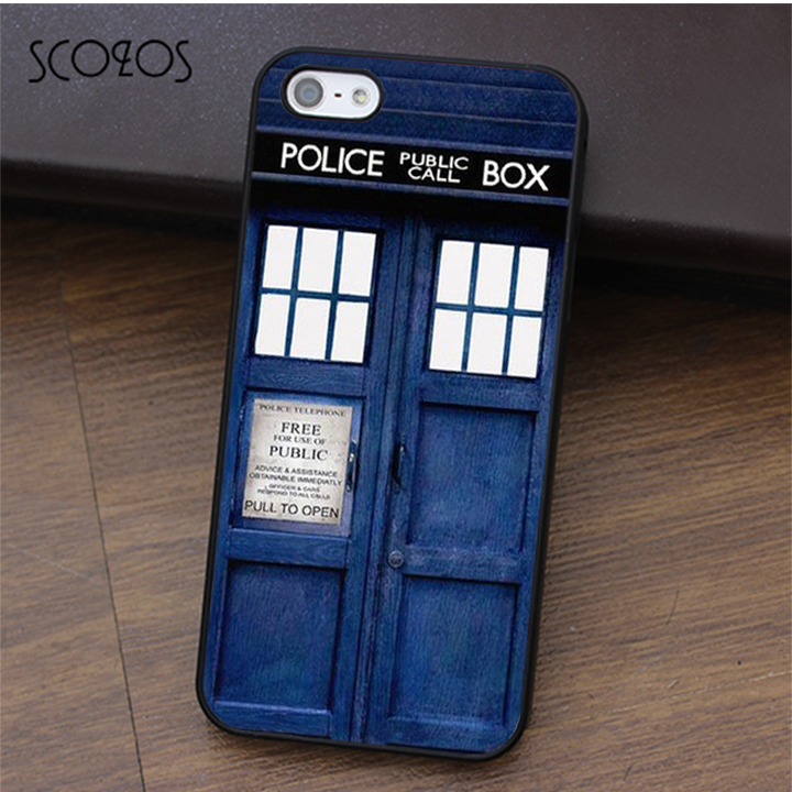 SCOZOS Doctor Who Tardis (2) fashion cell phone case cover for iphone X 4 4s 5 5s Se 5C 6 6s 7 8 6&6s plus 7 plus 8 plus #ca191
