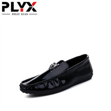 PHLIY XUAN Fashion Summer Style Soft Moccasins Men Loafers High Quality Leather Shoes Flats Gommino Driving