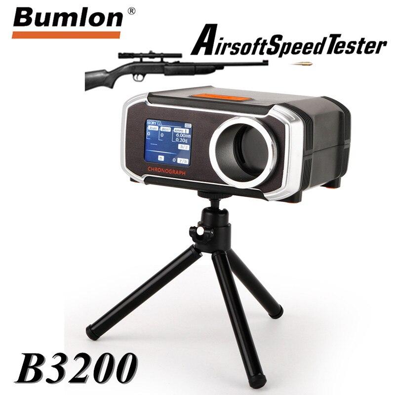 Testeur de vitesse Paintball BB tir chronographe testeur mieux que X3200 Air Gun accessoires pour chasse tactique Airsoft 7-0006