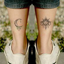 Popularne Słońce I Księżyc Tatuaż Kupuj Tanie Słońce I
