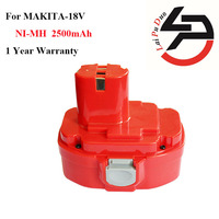 High Quality 2 5Ah 18V NI MH Power Tool Replacement Battery For Makita 1823 1834 1835F