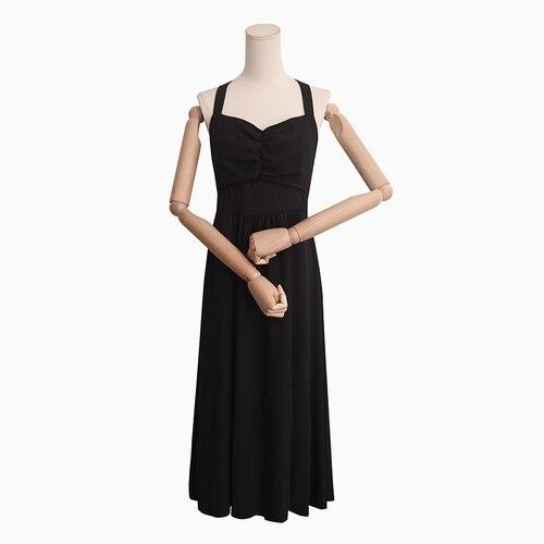 PYH41544 Super qualité Style coréen dos évider robe à bretelles