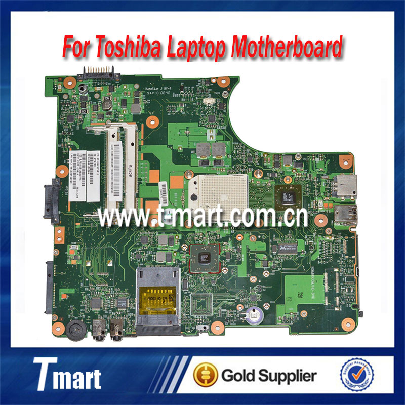 все цены на  100% working laptop motherboard for toshiba L300D V000138200 6050A2175001-MB-A02 system mainboard fully tested  онлайн