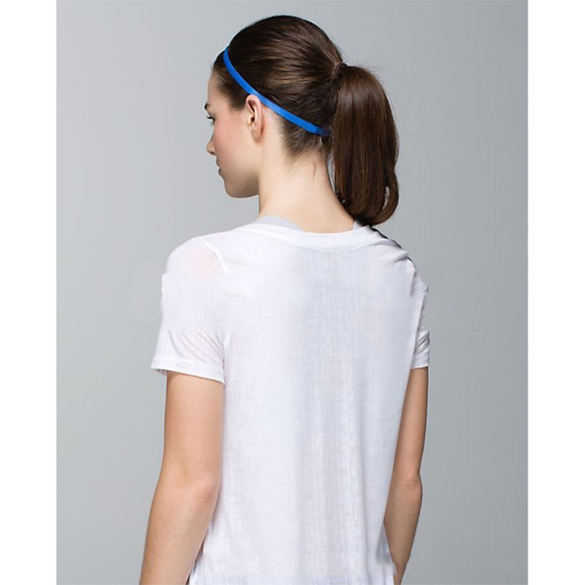 1pc Women Men Elastic Headband Anti-slip Head Bands Hair Accessories Sweatband for Softball  Football Running Yoga Headbands