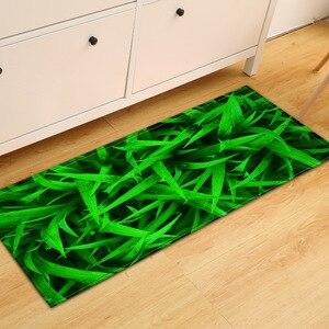 Image 3 - Spedizione gratuita Green Grass Land antiscivolo assorbente tappetino da bagno tappeto per soggiorno camera da letto pavimento tappeto Tapete Infantil