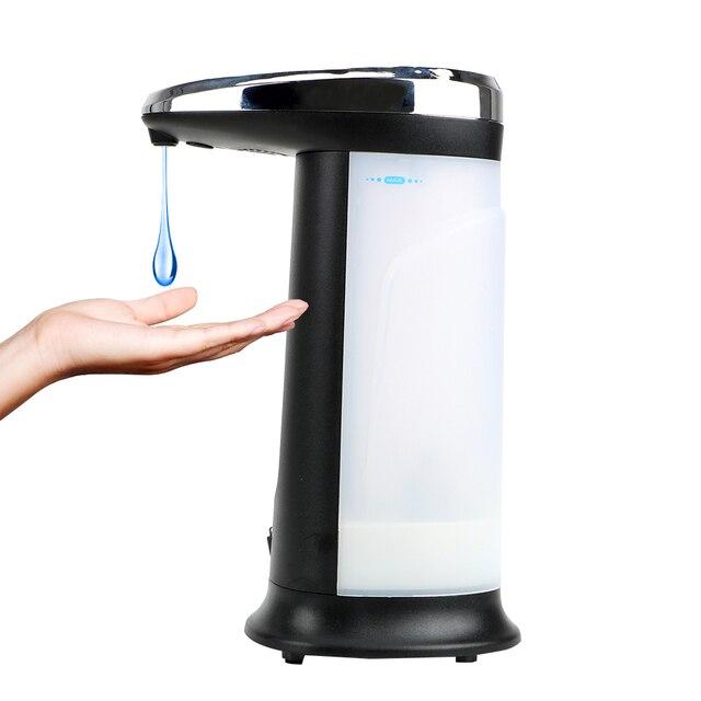 400Ml Automatic Liquid Soap Dispenser Intelligent Sensor Touchless Hands Cleaning Bathroom Accessories Sanitizer Dispenser 1