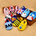 Fashion Newborn Baby Cotton Cartoon Girl Boy Soft Sole Toddler Cotton Infant Crib Sneaker Shoes