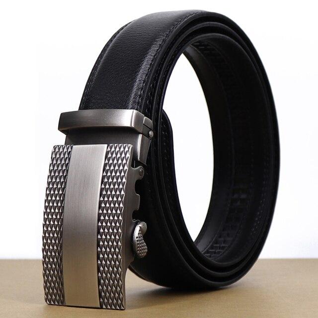 BATOORAP 2019 para hombre marca de lujo de cinturón cinturones hebilla  automática de correa de 7fcbd6c94040