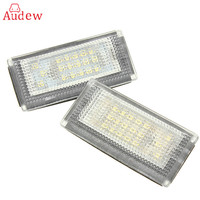 2 PCS Car LED Number License Plate Lights 6000K Plate Light Bulb For BMW MINI COOPER