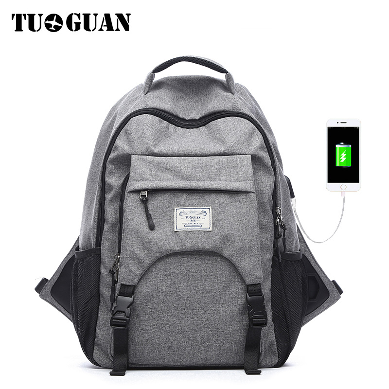 TUGUAN Fashion Waterproof Anti Theft Men Backpack USB Charging Laptop Backpacks Schoolbag Travel Back Pack for Male Boy Bagpack sopamey usb charge men anti theft travel backpack 16 inch laptop backpacks for male waterproof school backpacks bags wholesale