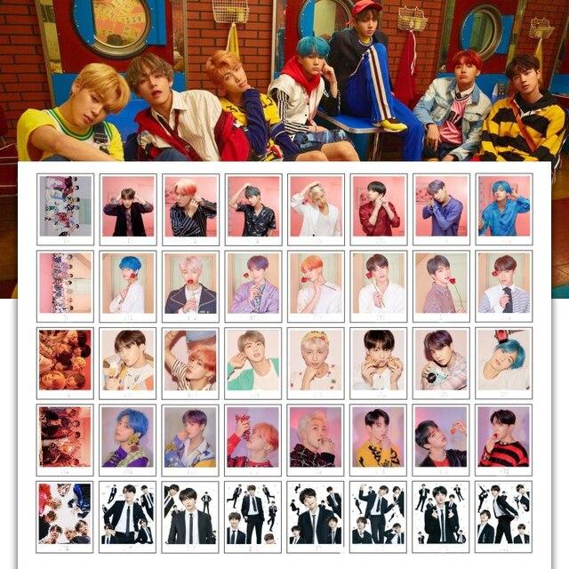 KPOP V JungKook SGDOLL RM JIMIN JIN 2019 Mini Livros de Cartão de Imagem da Foto do Calendário de Mesa Fãs Coleção Presente Cartão Lomo cartões com fotos