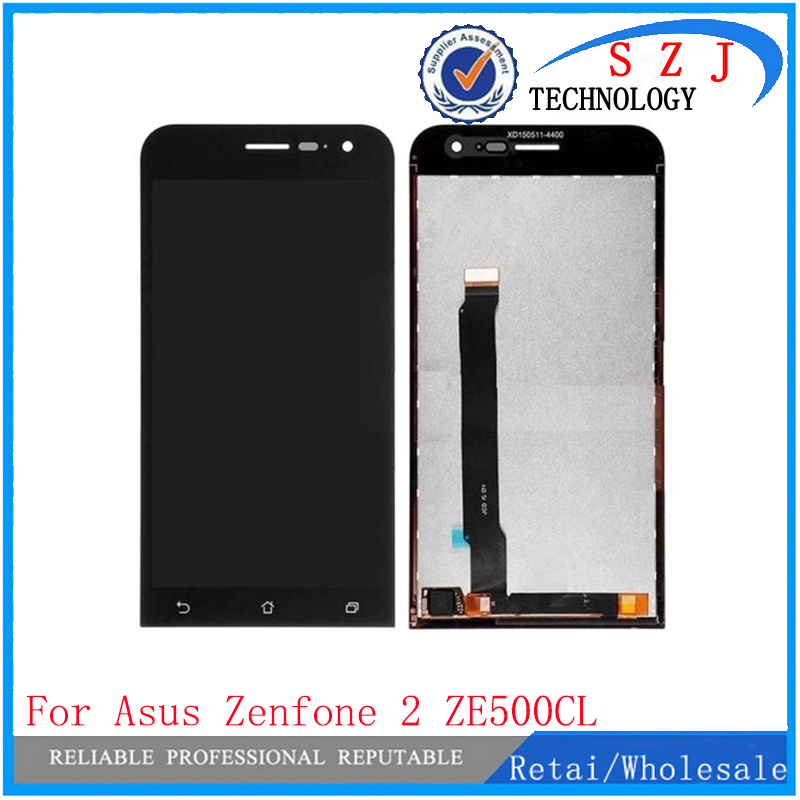 цена на NEW 5 inch For ASUS Zenfone 2 ZE500CL Z00D LCD Display Screen With Touch Digitizer Sensors Assembly Repair Parts Free shipping