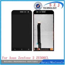 "NUEVO 5 ""pulgadas Para ASUS Zenfone 2 ZE500CL Z00D LCD Asamblea de Pantalla Táctil Digitalizador Con Sensores Piezas de Reparación Envío gratis"