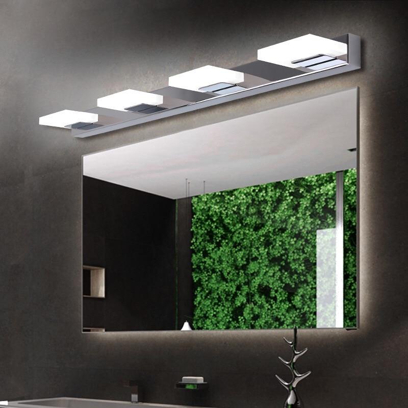 LED vanity lighting led mirror light L35/55/75/95/ 115cm modern cosmetic acrylic wall lamp waterproof bathroom lighting sconces