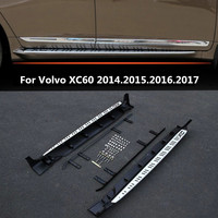 For Volvo XC60 2014.2015.2016.2017 Car Running Boards Auto Side Step Bar Pedals High Quality Lacquer Bake Color Nerf Bar