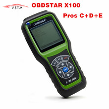 Original OBDStar X100 PROS C + D +E EPROM Model X 100 PROS Auto Key Programmer Odometer Correction Tool x100 pro