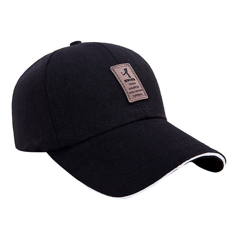 Cotton Golf Cap Baseball Cap Simple 56-60Cm Baseball Cap Sun Visor Golf Cap