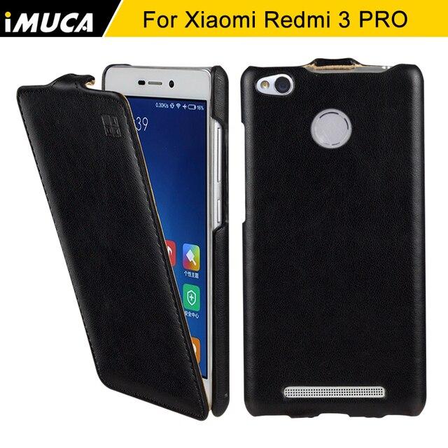 Xiaomi Redmi 3S Case Xiaomi Redmi 3 pro 3 S Case Cover iMUCA Flip Leather Case For xiaomi redmi 3S 3 Pro 3 S Prime Phone Cases