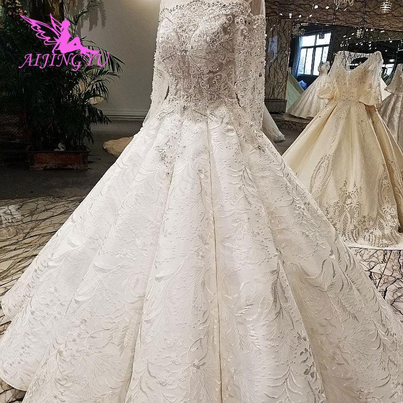 AIJINGYU Bridal Dresses Design Gowns Outlet Muslim Sri