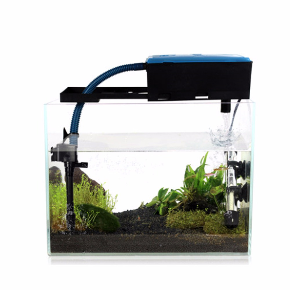 3 in 1 multifunction fish tank electric filter filtration for Electric fish tank