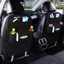 1PC Universal Felt Car Seat Back Storage Bag Backseat Holder Pockets Car-styling Protector Stowing Tidying Auto Accessories