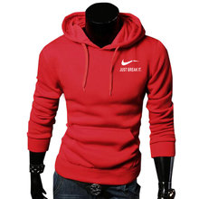 New Brand Sweatshirt Men's JUST BREAK IT Hoodies Men Hip Hop Fashion Fleece high quality Hoody Pullover Sportswear Clothing
