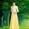 Chinês antigo costumeadult tradicional princesa dança dress popular chinesa hanfu tang roupas traje para o desempenho do estágio 17