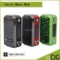 100% Original Vaporesso Tarot Nano Kit com 2 ml Tanque Veco e 80 W Tarot Nano Kit Vape Caixa Mod 2500 mah Bateria e cigarro