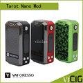100% Original Veco Vaporesso Tarot Nano Kit con 2 ml Tanque y 80 W Tarot Nano Caja Vape Mod 2500 mah Batería cigarrillo electrónico Kit